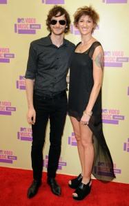 Natasha and Wally on the red carpet at the MTV-VMAs in 2012