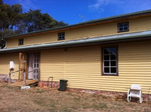 The now famous Gotye Barn on his folk's property, where Ben and Wally grooved on some new vocal tracks. C. Ben Abraham