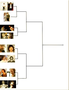 The starting March Gotye Madness brackets begin to form!