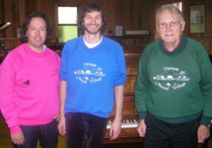 Franc, Wally and Darnum Musical Village staff