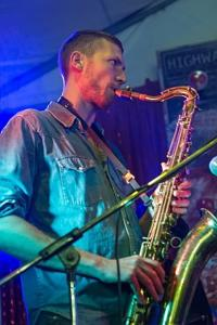 Rocking the sax C. Tommy Spender